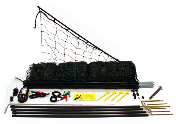 50m Poultry Net Kit including Energiser